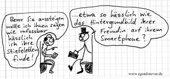 touche stiefeletten freundin smartphone