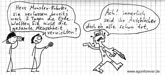 egon forever sci fi robo monster