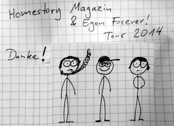 tour 2014 egon forever