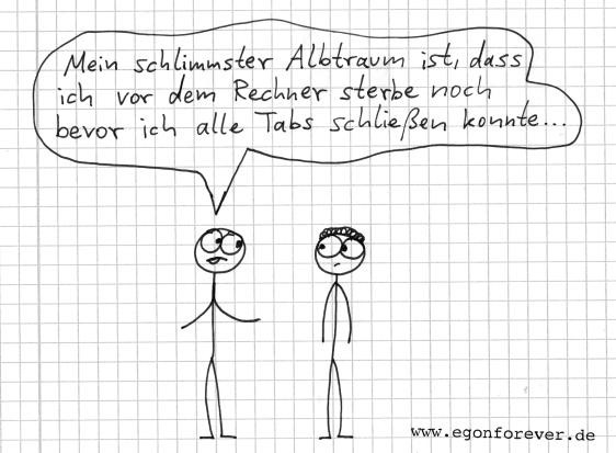 egons schlimmster albtraum