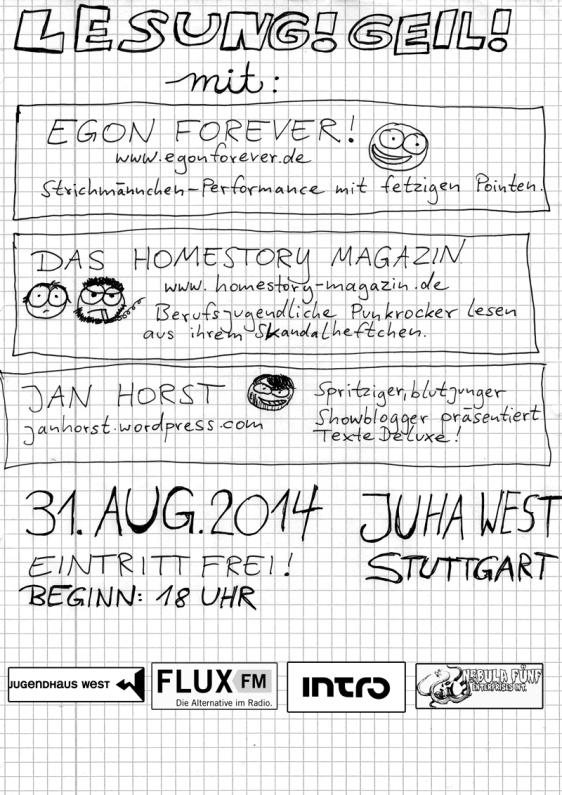 egon forever live stuttgart homestory magazin 2014
