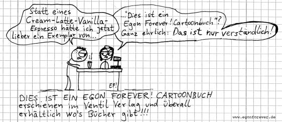 WERBUNGcafebuch-egon-forever