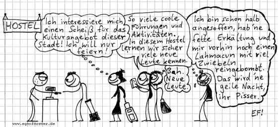 hostelhass-egon-foreber