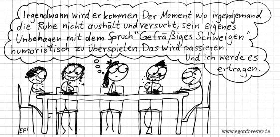 gefraessigesschweigen-egon-forever-cartoon