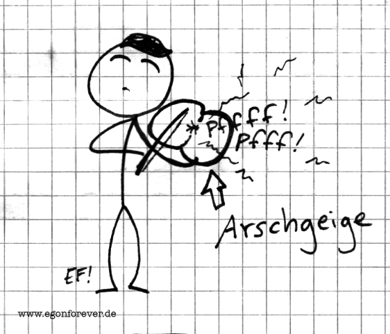 arschgeige-egon-forever-cartoon