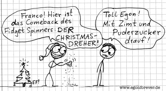 christmasdreher-egon-forever