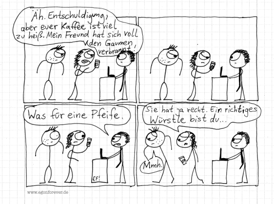 kaffeegaumen-egon-forever-cartoon
