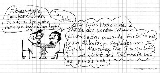wochenende-date-egon-forever-cartoon