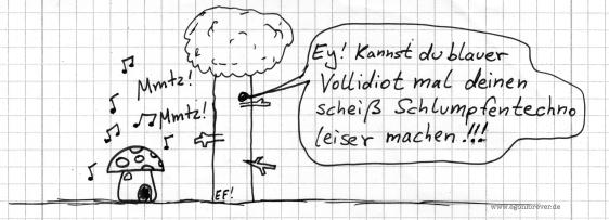 schlumpfentechno-egon-forever-cartoon