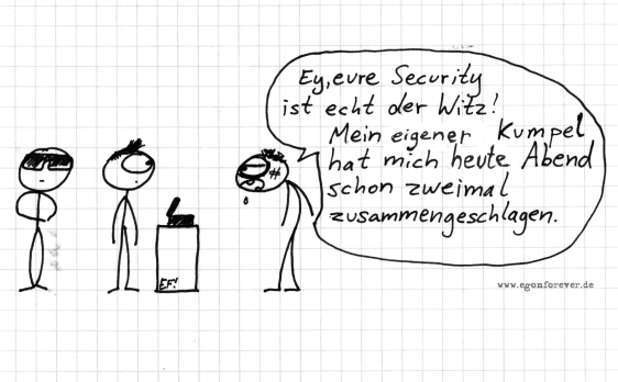 security-egon-forever-cartoon
