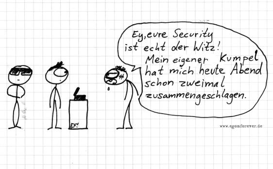 security-egon-forever-cartoon