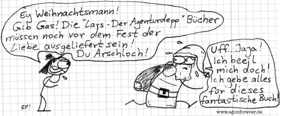 larswerbungweihnachtsmann-egon-forever-cartoon