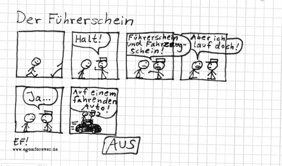 derfuehrerschein-egon-forever-cartoon