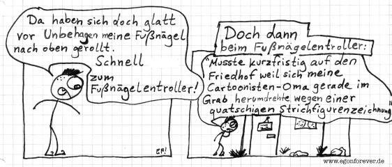 fussnaegel-egon-forever-cartoon